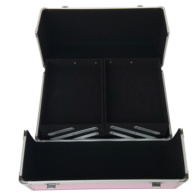 High quality fashion aluminum cosmetic vanity case