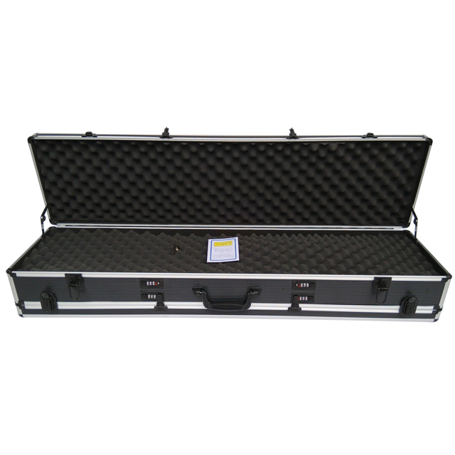Aluminium double rifles guns hard case double gun case